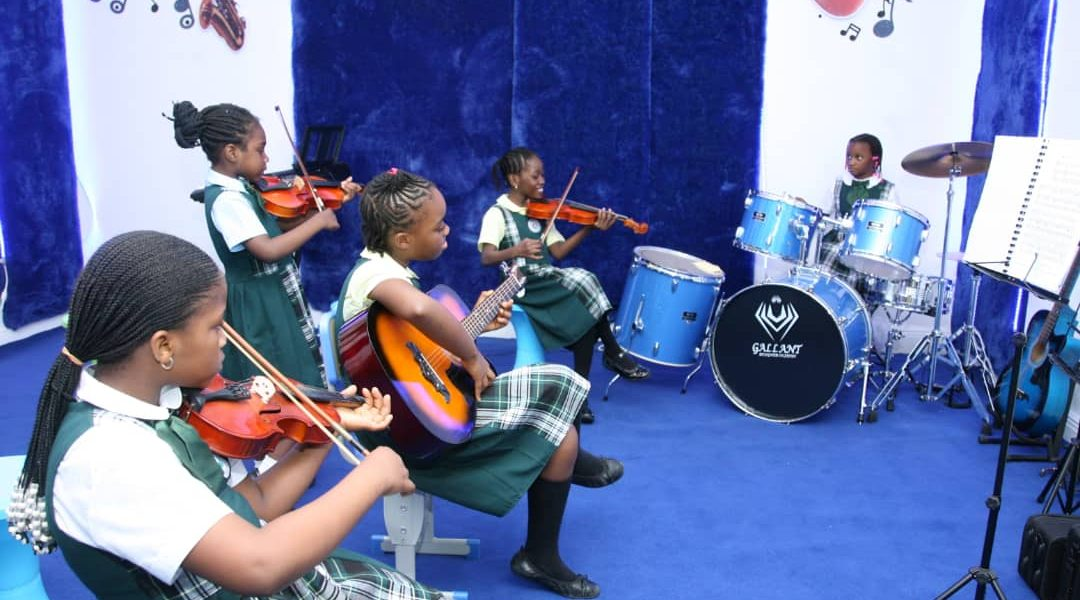 learning music in top primary school in nigeria
