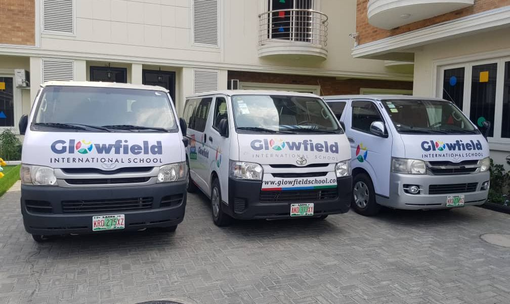 glowfield lekki school bus